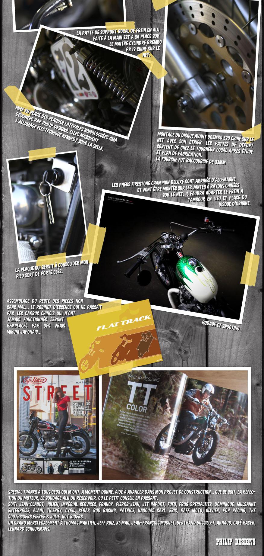 philip designs motorcycle 650 xs